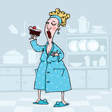 Começando minha dieta amanhã Imagem de Stock Royalty Free
