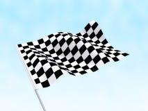Comece a bandeira do revestimento Foto de Stock Royalty Free