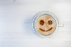 Comece a manhã com um sorriso Fotografia de Stock Royalty Free