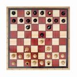 Comece o jogo de xadrez Imagens de Stock