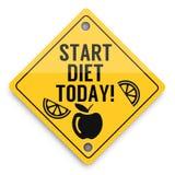 Comece seu teste padrão dos elementos do fundo da dieta hoje, cartaz abstrato do negócio da qualidade super ilustração stock