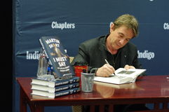 Comedian actor Martin Short. Canadian born American actor Martin Short signs his book  I Must Say: My Life as Humble Comedy Legend  at a book store Chapters on Stock Images