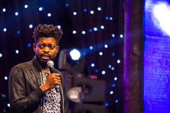 Comedian Basketmouth Royalty Free Stock Photography