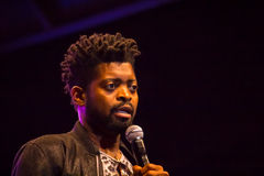 Comedian Basketmouth Stock Photo
