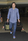 Comedian Jimmy Fallon is seen at LAX Stock Photos