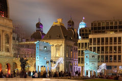 comedie πλατεία της Γαλλίας Λυών Στοκ φωτογραφίες με δικαίωμα ελεύθερης χρήσης