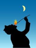 Comedor de fuego Foto de archivo libre de regalías
