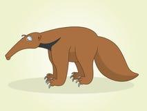 Comedor de la hormiga stock de ilustración