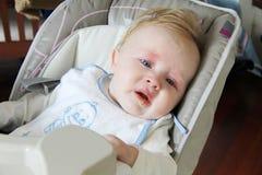 Comedor de los pobres del bebé Foto de archivo