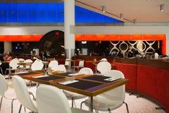 Comedor del aeropuerto Imágenes de archivo libres de regalías