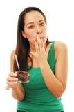 Comedor desarrumado Imagem de Stock