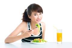 Comedor sano Fotografía de archivo libre de regalías