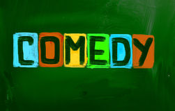 Comedy Concept Royalty Free Stock Photography