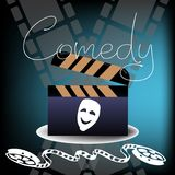 Comedy film concept Stock Photography