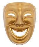 Comedy  theatrical mask Stock Photos