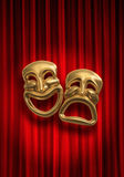 Comedy Tragedy Stock Images