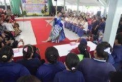 Comemoração do dia de Kartini na prisão do ` s das mulheres de Bulu Semarang Foto de Stock Royalty Free