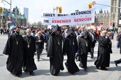 Comemoração do genocídio arménio Fotografia de Stock Royalty Free