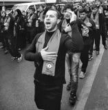 Comemoração dos mártir de Karbala em Arenamega Azerbaijão hertz imam foto de stock royalty free