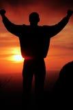 Comemoração na luz do sol Fotos de Stock