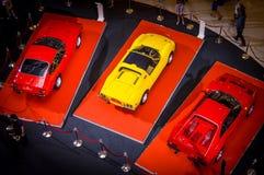 Comemorando 25 anos de Ferrari em Tailândia Foto de Stock Royalty Free