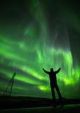 Comemorando a Aurora Fotos de Stock