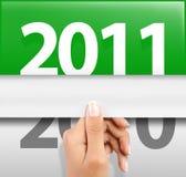 Comemorando o ano novo 2011 Imagem de Stock
