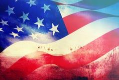 Comemorando o Dia da Independência nos E.U. Fotos de Stock