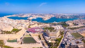 Comemorando o dia labour em Valletta, Malta Fotos de Stock Royalty Free
