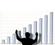 Comemorando o sucesso Imagem de Stock Royalty Free