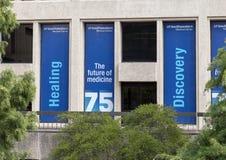 Comemorando o 75th aniversário do centro médico de UTSouthwestern, Dallas texas Foto de Stock