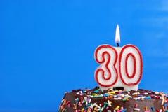 Comemorando trinta anos Fotos de Stock Royalty Free