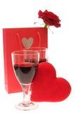 Comemorando Valentim Imagem de Stock