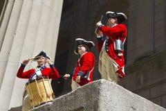 Comemorando a volta americana Imagem de Stock Royalty Free