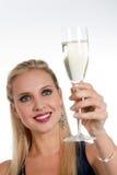 Comemorando Years'Eve novo ou aniversário Fotografia de Stock Royalty Free