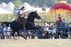 Comemoração histórica do oeste velho Fotografia de Stock Royalty Free