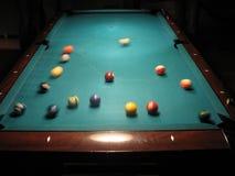 Comencemos el juego de la piscina Imágenes de archivo libres de regalías
