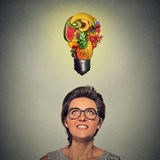 Comendo a ideia e o conceito saudáveis das pontas da dieta Foto de Stock Royalty Free