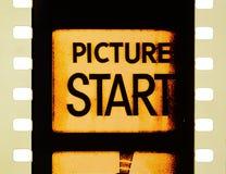Começo do filme do cinema Foto de Stock Royalty Free