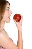 Comer da pessoa saudável Imagem de Stock
