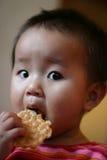 Comer das crianças Imagem de Stock