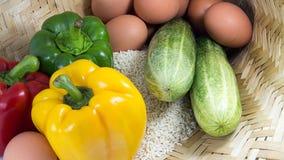 Comer orgânico Fotografia de Stock Royalty Free