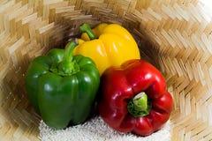 Comer orgânico Foto de Stock
