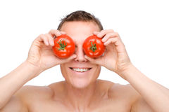 Comer saudável imagens de stock