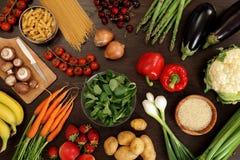 Comer saudável Fotos de Stock Royalty Free