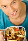 Comer saudável Foto de Stock Royalty Free