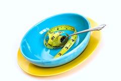 Comer saudável da dieta Fotografia de Stock Royalty Free