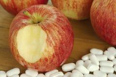 Comer saudável e vida saudável Imagem de Stock