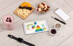 Comer saudável, vitaminas, conceito de dieta fotos de stock