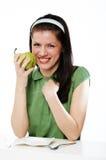 Comer saudável Imagem de Stock Royalty Free